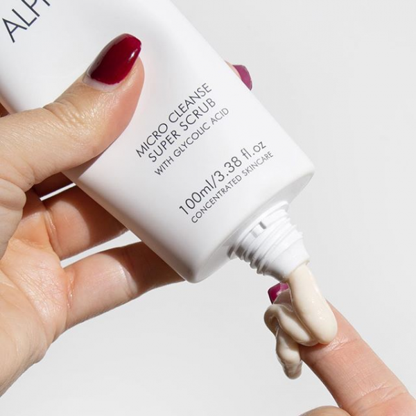 """Alpha-H Concentrated Skincare on Instagram_ """"This + Gentle Daily Exfoliant is like giving your face the holiday you so desperately deserve 🙏🏻#alphah"""""""